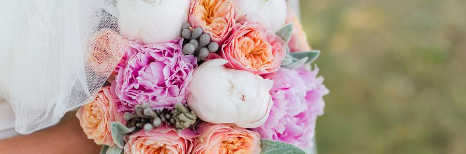 Let our talented florist create a bouquet that will match your dress and decor perfectly.