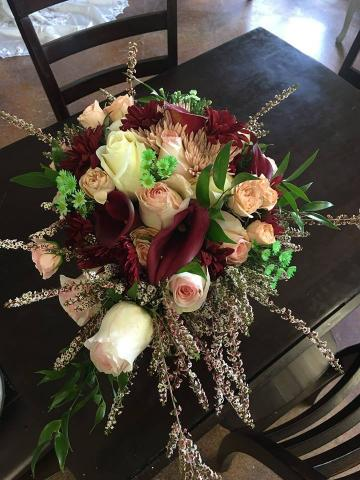 Fantasy Fall Wedding Bouquet