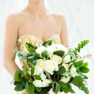 Lush eucalyptus is this seasons favorite for the perfect wedding.